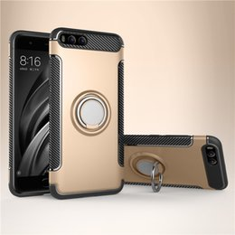 armor xiaomi redmi note case UK - 360 Stand Holder Magnetic Armor Kickstand Multifunction Cover Hard Case For Xiaomi Mi 9 SE 8 Lite Max Mix 3 F1 Redmi Note 8 Pro 7 6 6A Y2 S2