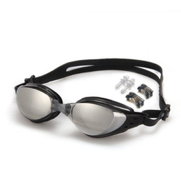$enCountryForm.capitalKeyWord Australia - Black Waterproof Anti Fog UV Swim Swimming Ski Goggles Eyewear Lens Glasses Water Sport Supplies Wholesale