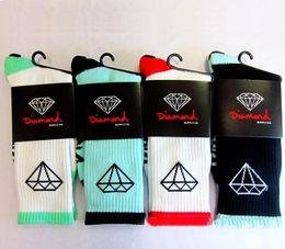 Happy Baseball Australia - DHL Free Shipping Brand Designer Cotton Coolmax Diamond Socks High Quality Men High Socks Happy Coolmax Socks