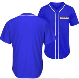 smiths shirt UK - Bledsoe Watkins Kelly Smith Sanders blue BUFFALO football team city Baseball style Jersey shirts Custom any Name Number