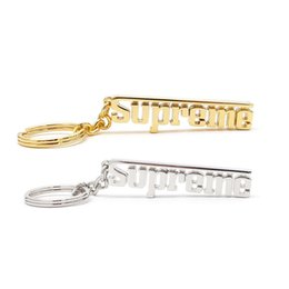 bottle opener rings logo UK - 3D Metal Keychain with Logo Cool SUP Car Key Chain Fashion Brand Key Ring Accessories Gift