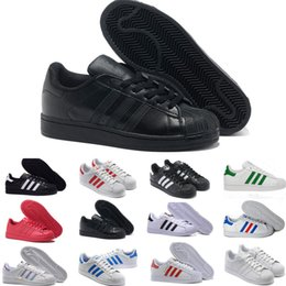Hologram Shoes NZ - Superstar Original White Hologram Iridescent Junior Gold Superstars Sneakers Originals Super Star Women Men Sport Casual Shoes 36-45 E99