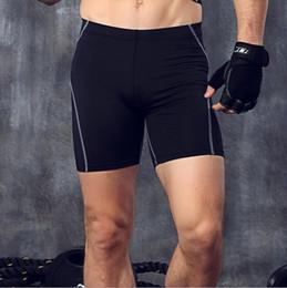 Compression Shorts For Men Australia - Bodybuilding Fitness Shorts For Men Skins Compression Shorts Men Running Skinny Workout Gyms Short Sporty Joggers Elatic Waist