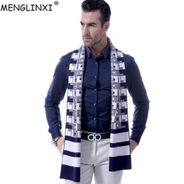 best scarf brands 2019 - Classic Plaid Men Cashmere Scarf Winter Fashion Brand Scarf 2019 New Best Christmas Gift Muffler Man Casual Wool Scarves