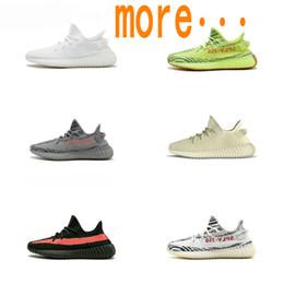 e6b98b1bf70 2019 Nouvelle Arrivée 350 Chaussures Kanye Hommes Femmes Chaussures De  Course De Mode Tendance Maille Casual Ouest Baskets Classique Faible  Athlétique ...