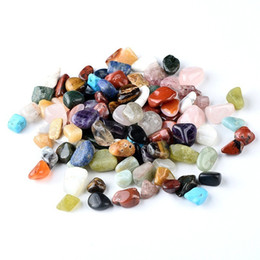 $enCountryForm.capitalKeyWord Australia - 20pcs Natural Mineral Gemstone Rocks Healing Crystal Polished Science Stones Collection Supplies Decoration Crafts C19041101