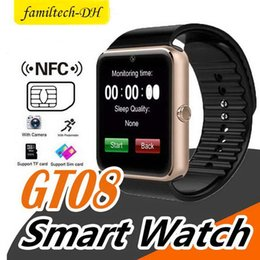 $enCountryForm.capitalKeyWord NZ - GT08 Bluetooth Smart Watch with SIM Card Slot and NFC Health for Android Samsung and Smartphone Bracelet With Package Better DZ09 U8 V8