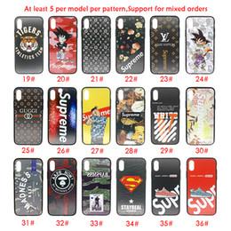 Para iphone xs max x xr telefone case moda variedade variedade venda quente para a apple 7 8 plus tpu pc casos de telefone celular venda por atacado
