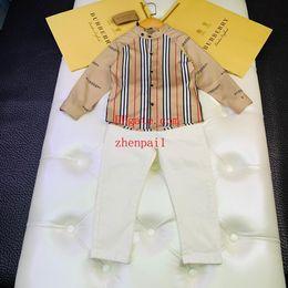 $enCountryForm.capitalKeyWord Australia - kids brand clothes boys Cotton shirt causal autumn sets 2019 kids outfits 2pcs Suits baby clothes kids jackets 22