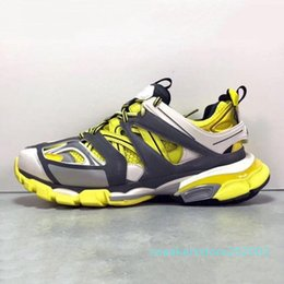 spring tracking Canada - Cheap Sale Designer Triple S Track 3.0 Release Tess S Paris Gomma Maille Black Low Track 3M Casual Shoes Clunky Designer Sneaker s03