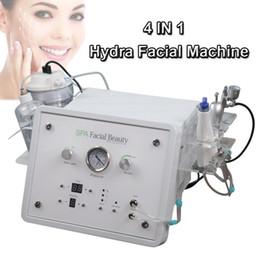 DiamonD peel machine for sale online shopping - 4 in hydra dermabrasion Diamond microdermabrasion Oxygen spray jet peel BIO Ultrasonic skin scrubber Hydro facial machine for sale