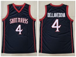 classic basketball jersey Australia - #4 Matthew Dellavedova St. Mary's Gaels College Retro Classic Basketball Jersey Mens Stitched Custom Number and name Jerseys