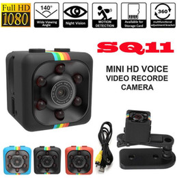 Discount hidden car spy camera SQ11 Full HD 1080P Mini Car Hidden DV DVR Camera Spy Dash Cam IR Night Vision
