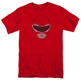 "$enCountryForm.capitalKeyWord UK - Power Rangers ""Red Ranger Mask"" T-Shirt - Adult, Child, Toddler"