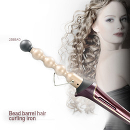 $enCountryForm.capitalKeyWord Australia - 110-240V Professional Hair Curler Ceramic Roller Bead Curling irons Wand Machine 13-25mm Magic Curls Styling Tools Hair Curler