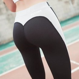 hot ladies yoga pants 2020 - Hot sell women fitness leggings running pants female sexy slim trousers lady dance pants New Style Soft Material Yoga le