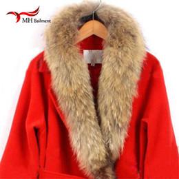 $enCountryForm.capitalKeyWord Australia - Real fur collar 100% genuine raccoon fur scarf Multiple sizes winter for women hot selling L#27 D19011003