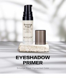 $enCountryForm.capitalKeyWord Australia - DHL FREE 6ml Crease Smudge Proof Pigments Eyes Primer Base Concealer Oil-control Pores Cover Brand Liquid Eyeshadow Primer Gel Makeup Base