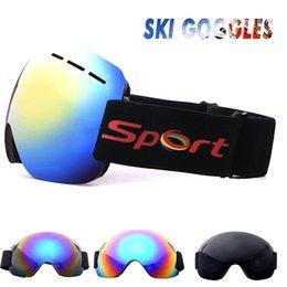 $enCountryForm.capitalKeyWord Australia - Ski Goggles Snow Mountain Anti Fog Durable Portable 2018 Outdoor Riding Wind Mirror Snowboard Motion Outdoors