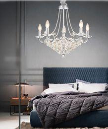 $enCountryForm.capitalKeyWord Australia - 2019 New European Style Modern Luxury Crystal Chandeliers Light Living Room Dinning Room Hanging Lamp 10 Lights