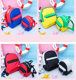 $enCountryForm.capitalKeyWord Australia - Champion Brand Kids School Bag Brand Designer Backpacks Parent-child Shoulder Bags Canvas Sports Travel Duffle Totes Back Pack C72507