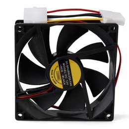 $enCountryForm.capitalKeyWord Australia - 12V 4-Pin 90mm Silent Computer Brushless Cooler Case PC CPU Cooling Fans Black Cooler Compute Quiet Fan Wholesale
