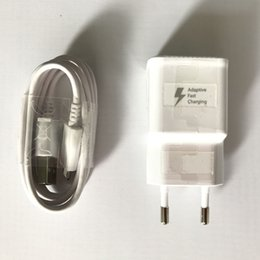 OEM Quality EU Plug Fast Charging Adaptive Micro USB Wall Charger for Samsung Galaxy S6 S6 Edge+ S7 Note5 from spying clock manufacturers