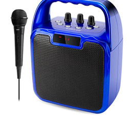$enCountryForm.capitalKeyWord Australia - With line microphone can be inserted into the U disk square dance audio portable multi-function speaker