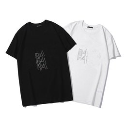 T Shirts S Print Letters Australia - New Tops Summer High Street Polo Shirts Casual Letter Printing Men Women Black White Short Sleeve T-shirt Hip Hop Fashion Tee S-2XL