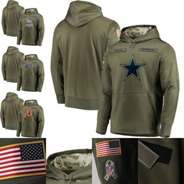 SweatShirt bear online shopping - men chicago sweatshirt bears Bills Cowboys Cardinals Ravens Colts Browns salute to service sideline therma performance pullover hoodie olive