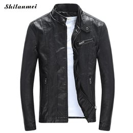 $enCountryForm.capitalKeyWord NZ - Men'S Pu Jackets Coats Autumn Winter Motorcycle Biker Faux Leather Jacket Men Clothes Thick Velvet Coats M-3xl Jackets Man