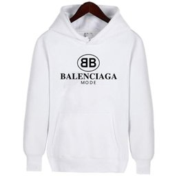 d6071e22b0 2019 Off Hot Sales High Quality loose men and women hooded sweater loose hoodie  White and Black Couple hoodies Sweatshirts