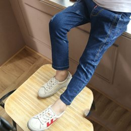 BaBy Boy korean style clothing online shopping - Baby Boys and childrens jeans Pants clothes In the spring and autumn South Korean style Stylish kids jeans Clothing LRZLYX A1