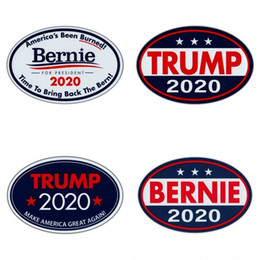 $enCountryForm.capitalKeyWord Australia - TRUMP Bernie 2020 Pattern Stickers Unite State Presidential Election Style Fridge Magnets Multi Styles Sticker New Arrival 1 6jw L1