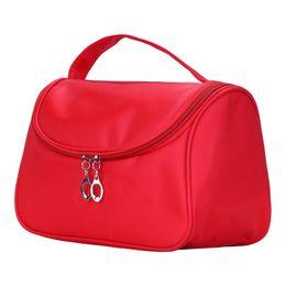 $enCountryForm.capitalKeyWord UK - Cosmetic box 2019 female Nylon professional cosmetic bag women's large capacity storage handbag travel toiletry makeup