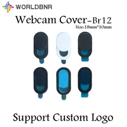 security camera packages NZ - 2020 Security Webcam Privacy Covers Web Camera for Computers Laptops support Custom Logo ultral thin with retail packaging