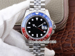 Luxury Watches World Australia - 2019 Basel World Luxury New GMT II Automatic Movement Stainless Steel Dive Basel 40MM 116710 116710BLNR 126715CHNR Mens Watch Watches
