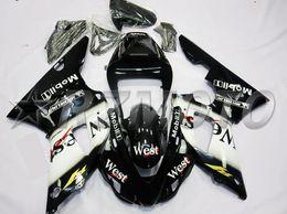 $enCountryForm.capitalKeyWord Australia - New ABS Compression Molding motorcycle plastic Fairings Kits Fit For YAMAHA YZF-R1-1000 1998-1999 98 99 bodywork Set Custom black white west