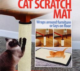 Mat Legging Australia - Manufacturers of direct sales sisal mat cat scratches to protect furniture legs fine work compact convenient cat toys wholesale, a hair
