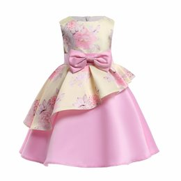 elegant princess gowns for kids 2019 - good quality girs dress new summer elegant girl princess dress children wedding dress christmas kids party dresses for g