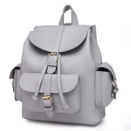 $enCountryForm.capitalKeyWord NZ - Women Leather Backpack Preppy Style School Bags For Teenage Girls Classic Design High Quality Casual Daypacks Mochila Female