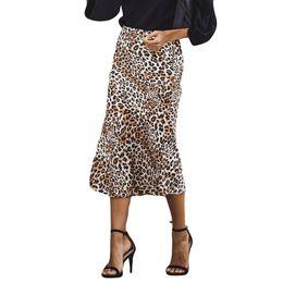 $enCountryForm.capitalKeyWord UK - SALE Skirt Women High Waist Leopard Print Fashion Girls Sexy Uniform Pleated Skirt faldas mujer moda 2019 Gift Dropshipping
