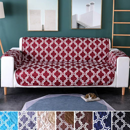 $enCountryForm.capitalKeyWord Australia - Printing Pet Dog Kids Sofa Couch Cover Chair Mat Furniture Protector Reversible Washable Removable Armrest Slipcovers 1 2 3 Seat
