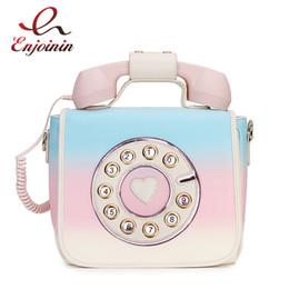 $enCountryForm.capitalKeyWord NZ - Trendy Phone Design Gradient Color Pu Female Shoulder Bag Tote Crossbody Messenger Bag For Women Casual Handbag Bolsa Purse