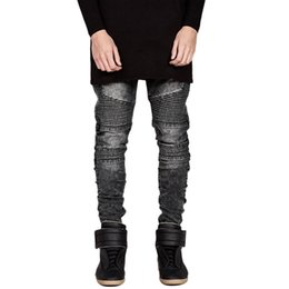 Chinese  Pantalones Jeans Hombres 2019 Peto Hombre Korean Style Men Fashions Erkek Jean Pantolon Slim Fit Locomotive Biker Jeans Men manufacturers