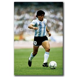 $enCountryForm.capitalKeyWord Australia - Q0948 Posters and Prints Maradona Football Star Pop Hot 12x18 24x36in Art Poster Canvas Painting Home Decor