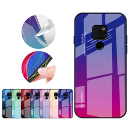 $enCountryForm.capitalKeyWord Australia - Huawei mobile phone case for glory tempered glass TPU drop-proof housing for Huawei P20 lite P30 P30 lite mate20 mobile phone
