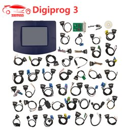 Chinese  Digiprog III V4.94 Digiprog 3 Odometer Programmer Mileage correction tool with all full set cables Odometer Adjustment Tool manufacturers
