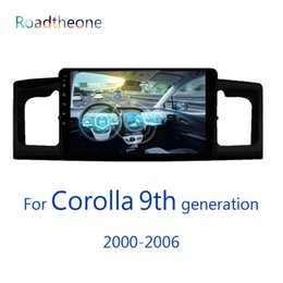 Discount special car dvd toyota corolla - for Toyota COROLLA 2006 9th generation 2000-2006 e120 e130 2din radio car multimedia player with GPS navigation car dvd