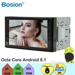 "$enCountryForm.capitalKeyWord UK - Autoradio 2 din Android 8.1 Cassette Recorder Car Radio HD 7""Touch Screen Audio Bluetooth Rear View Camera DVD Player"
